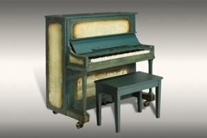 Đấu giá cây đàn piano trong phim