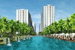 Căn hộ resort view sông Sài Gòn giá chỉ 12,5 triệu đồng/m2
