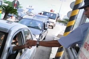 Mức thu phí sử dụng đường bộ tại trạm BOT và trạm chuyển giao