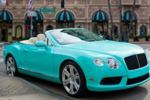 Bentley Continental GTC Limited Edition ở Beverly Hills