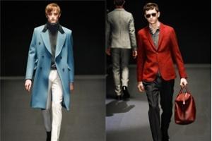 Thời trang nam Gucci Thu/Đông 2013 - Sắc màu lên ngôi