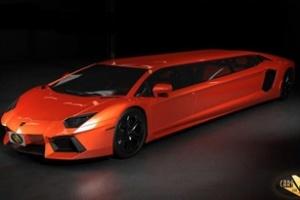 Lamborghini Aventador biến thành Limousine