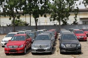 Thị trường ô tô tháng 2/2013 sụt giảm mạnh