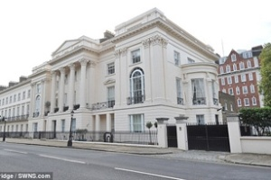 Ngôi biệt thự đắt nhất ở Anh