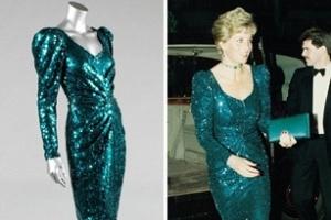 Đấu giá trang phục của công nương Diana