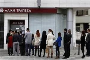 Ngân hàng Cyprus khống chế tiền rút ở ATM