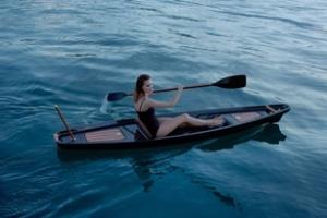 Thuyền kayak mạ vàng
