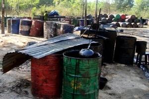 Sản xuất diesel từ nhớt phế thải và hóa chất