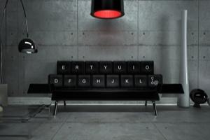 Ghế sofa phong cách bàn phím