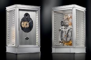 Đồng hồ để bàn của Parmigiani Fleurier và Lalique