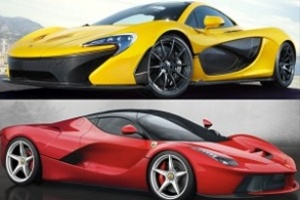 Cuộc đua xe dân dụng của Ferrari và McLaren