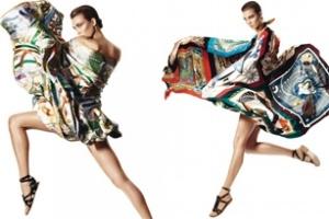 BST khăn Hermès Xuân/Hè 2013