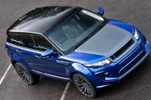 Bản độ Kahn Range Rover Evoque thêm màu mới sang trọng