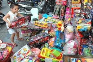 Đồ chơi nhiều chì của Trung Quốc 'tấn công' trẻ em