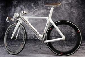 Xe đạp đặc biệt: Vừa đạp vừa guồng bằng tay