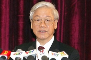 Phát biểu bế mạc hội nghị Trung ương 7 của Tổng Bí thư