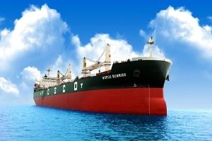 Nasico bàn giao tàu hàng Vosco Sunrise 56.200 tấn