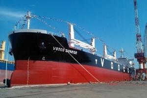 Vinashin bàn giao tàu 56.200 tấn cho Vinalines