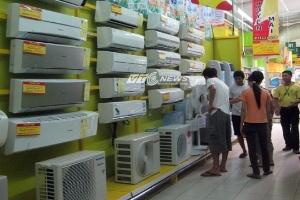 Thị trường điều hòa quá tải ngày Hà Nội 38 độ C