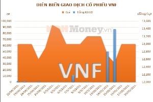 VNF: Công ty mẹ đạt 208 triệu đồng lợi nhuận quý 1/2013