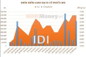 IDI: Em trai Chủ tịch HĐQT đăng ký bán hết cổ phiếu