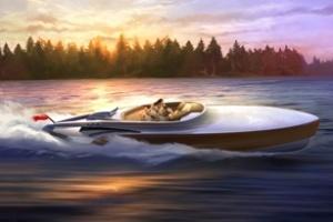 Du thuyền dùng động cơ máy bay Rolls Royce