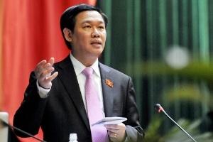 Chính thức miễn nhiệm Bộ trưởng Tài chính Vương Đình Huệ
