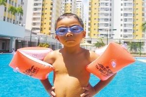 Đồ bơi đua theo mùa bơi của trẻ