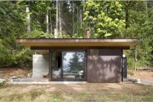 Ngôi nhà gỗ một phòng duy nhất