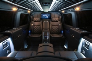 Mercedes-Benz Viano hóa xe siêu sang