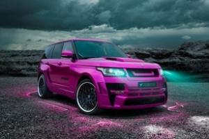 Hamann Mystere: Range Rover lạ trong sắc tím