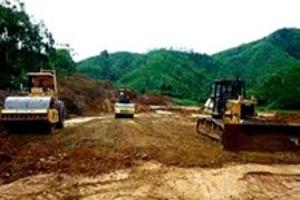 Dự án xây dựng đường 5 kéo dài chậm tiến độ