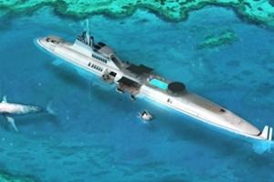 Du thuyền lặn Migaloo