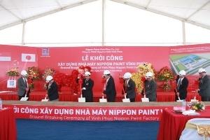 Sơn Nippon xây dựng nhà máy thứ ba tại Việt Nam