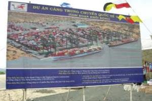Thu hồi giấy phép cảng Vân Phong