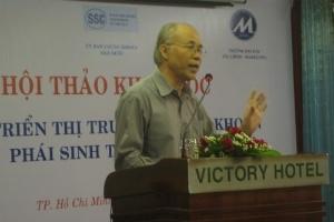 Việt Nam đang rất cần một thị trường chứng khoán phái sinh