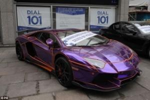 Lamborghini 450.000 USD sắp bị nghiền nát