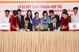 HDBank ký kết thỏa thuận hợp tác với Tổng cục Hải quan