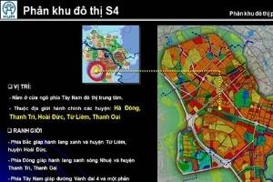 Hà Nội duyệt quy hoạch phân khu đô thị hơn 4.000 ha