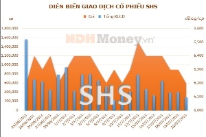 SHS: Quý II/2013 lãi 5,45 tỷ đồng