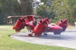 4 mẫu thiết kế ô tô bay độc đáo