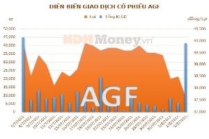 AGF phát hành cổ phiếu giá 12.000 đồng/CP