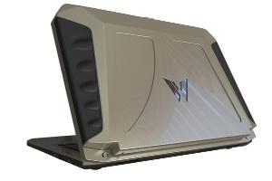 Máy tính xách tay dùng năng lượng mặt trời độc đáo