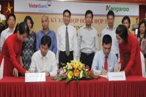 VietinBank và Kangaroo ký kết hợp đồng hợp tác toàn diện