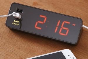 Đồng hồ báo thức có kèm cổng sạc USB