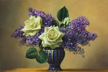 Kiệt tác hoa trong tranh của Pieter Wagemans