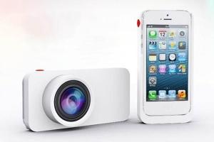 Tăng cường ống kính chuyên nghiệp cho iPhone 5 bằng Ladibird