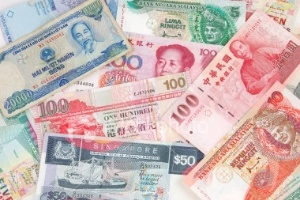 Xu hướng đi xuống của các đồng tiền châu Á
