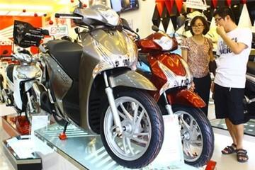 Honda SH 2012 bất ngờ tăng giá mạnh