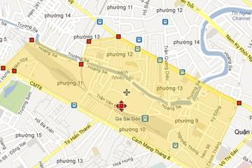 Tp.HCM quy hoạch 1/2000 khu dân cư phường 12, quận 10